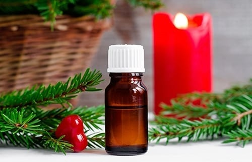 New Year essential oil
