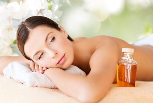 happy woman in beauty spa 2