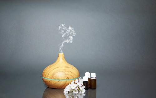Electric Essential oils Aroma diffuser, oil bottle